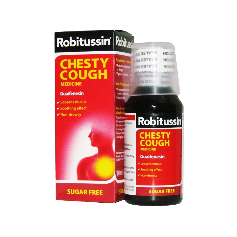 Robitussin Chesty Cough Syrup - 100ml