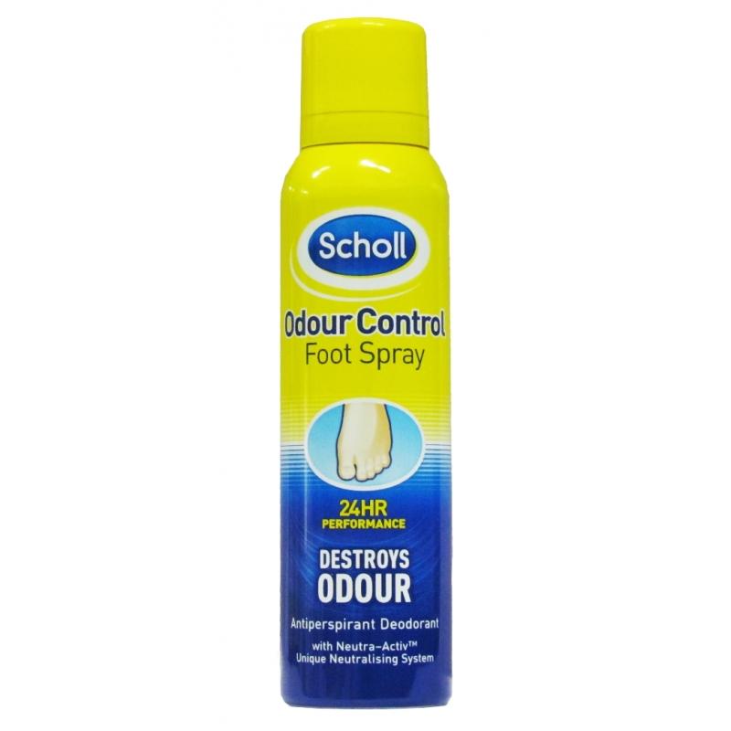 Scholl Odour Control Foot Spray - 150ml