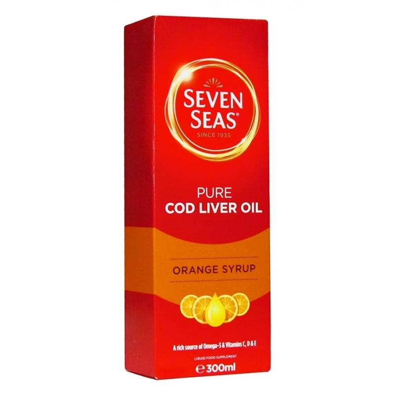 Seven Seas Cod Liver Oil Orange Syrup - 300ml