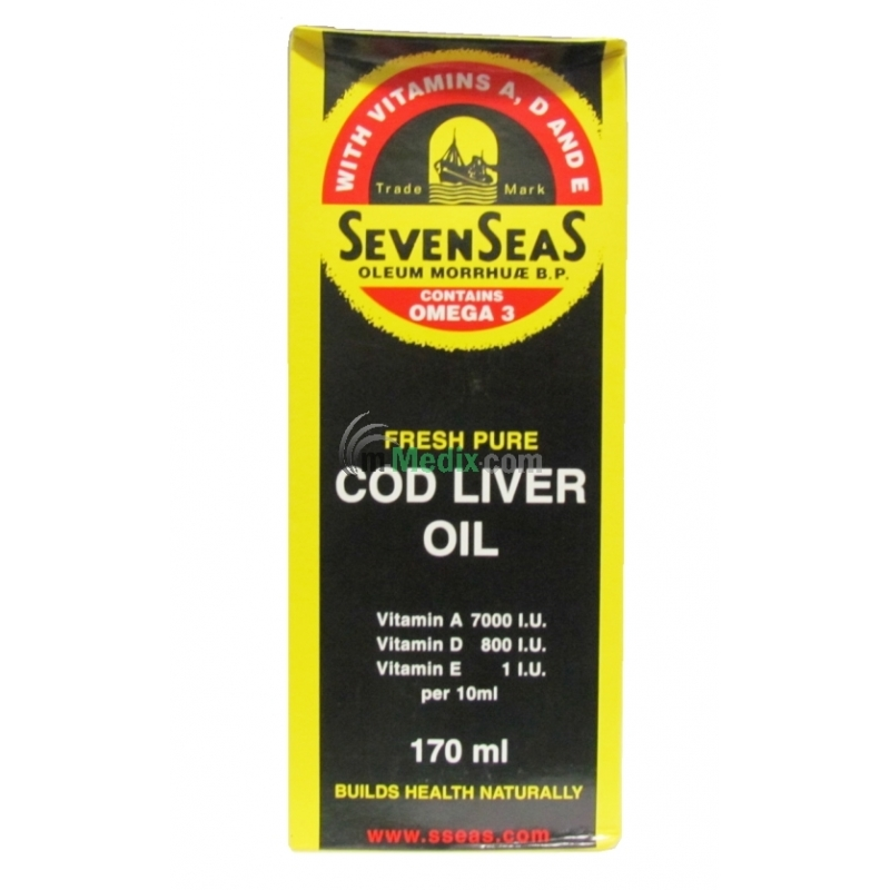 Seven Seas Fresh Pure Cod Liver Oil - 170ml
