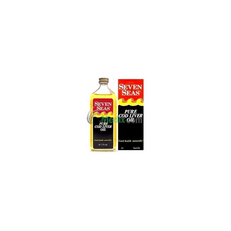 Seven Seas Pure Cod Liver Oil - 170ml