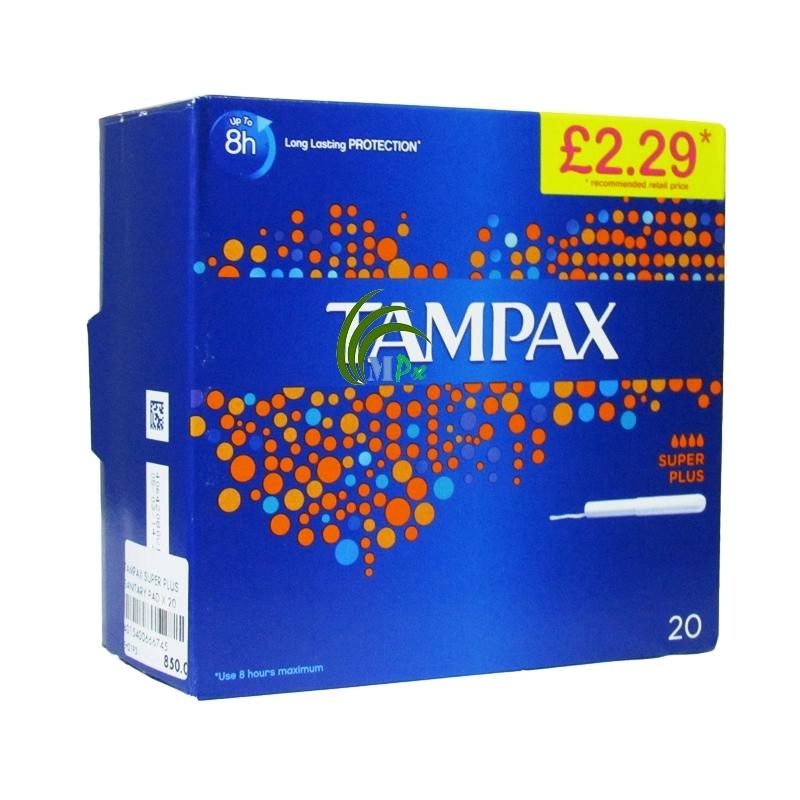 TAMPAX Tampons Super Plus x20