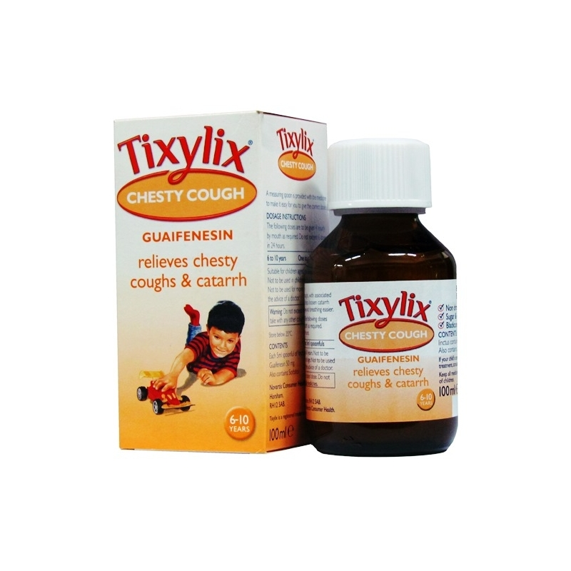 Tixylix Chesty Cough Syrup - 100ml