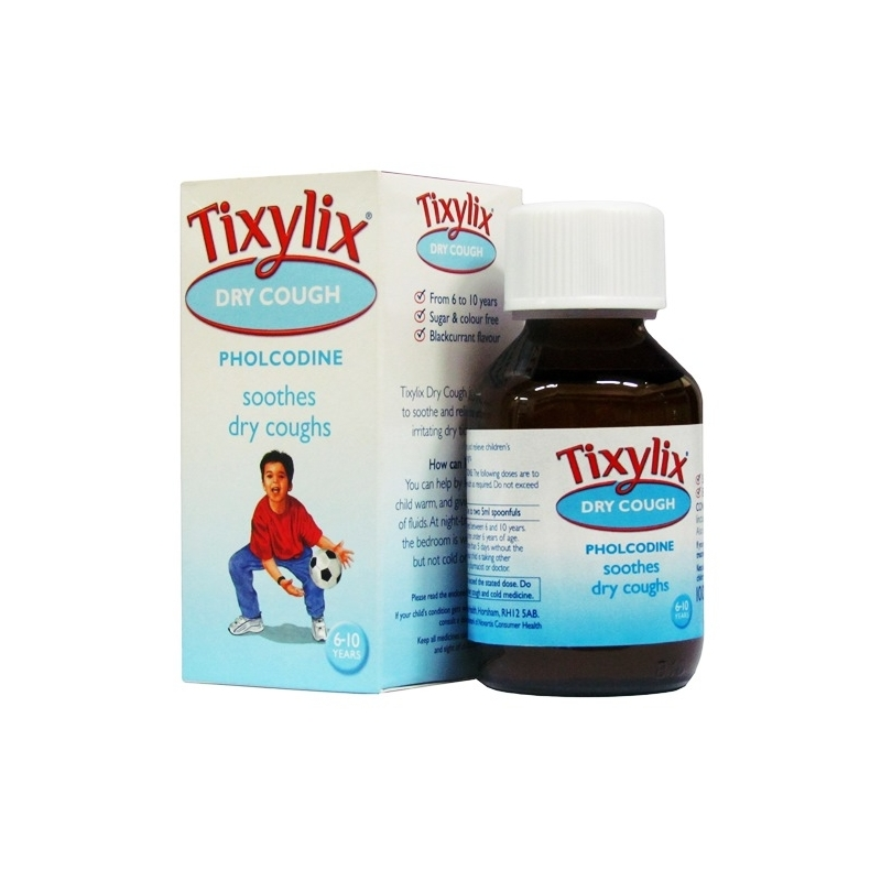 Tixylix Dry Cough Syrup - 100ml
