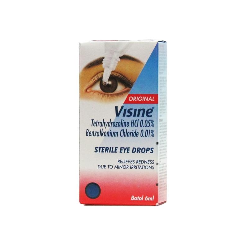 Visine Original Sterile Eye Drops Ð 6ml