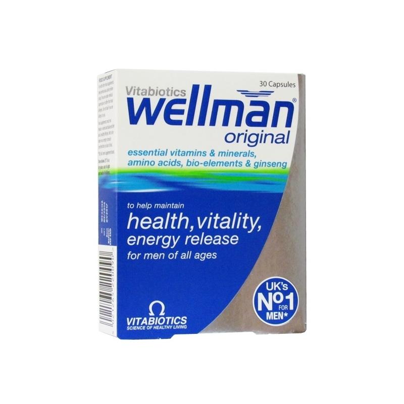 Wellman Original Ð 30 Capsules