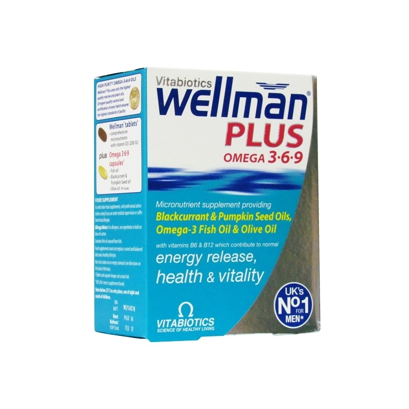 Wellman  Plus Omega 3.6.9 Ð Dual Pack
