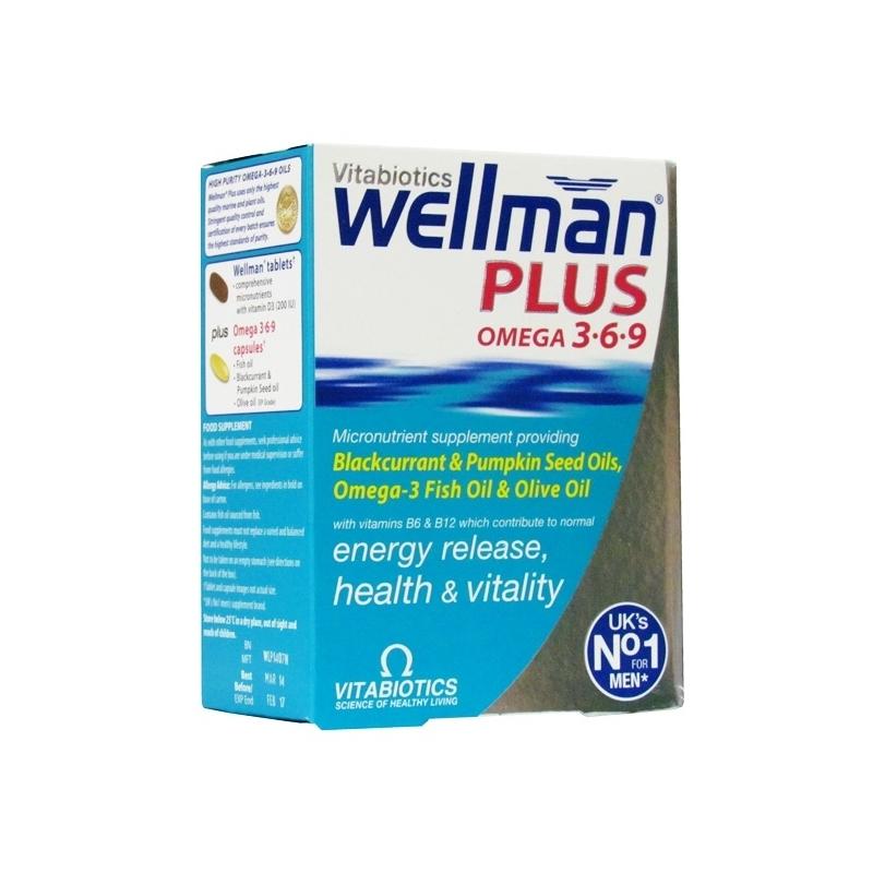 Wellman  Plus Omega 3.6.9 Ð Dual Pack