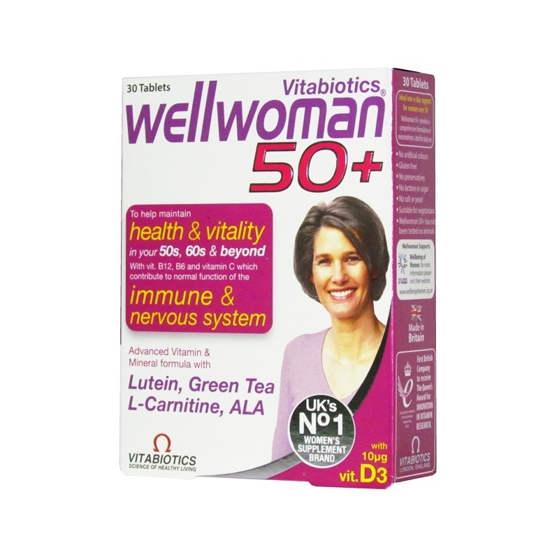 Wellwoman 50 Plus - 30 Tablets