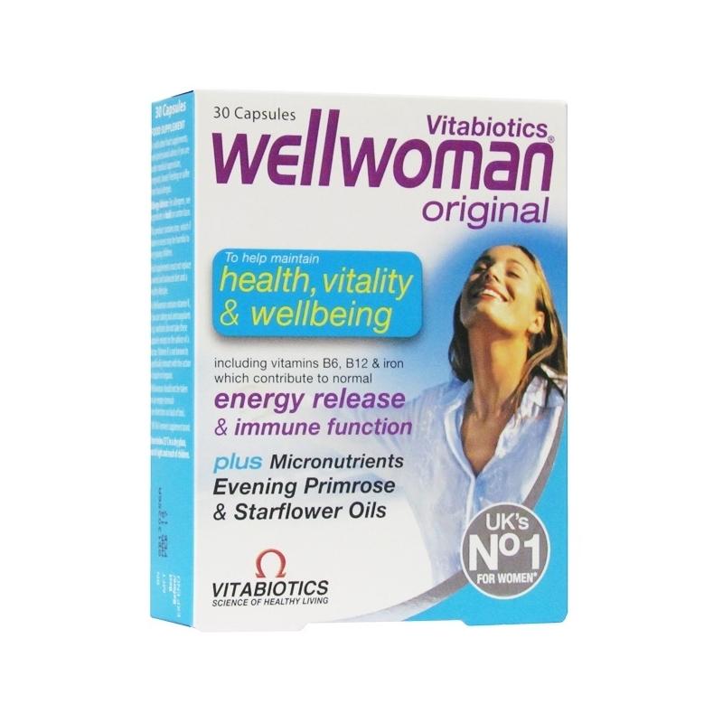 Wellwoman OrIginal Ð 30 Capsules