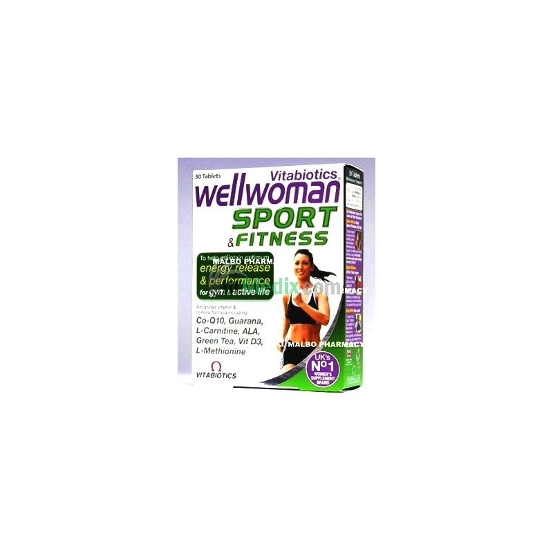 Wellwoman Sport & Fitness - 30 Tablets