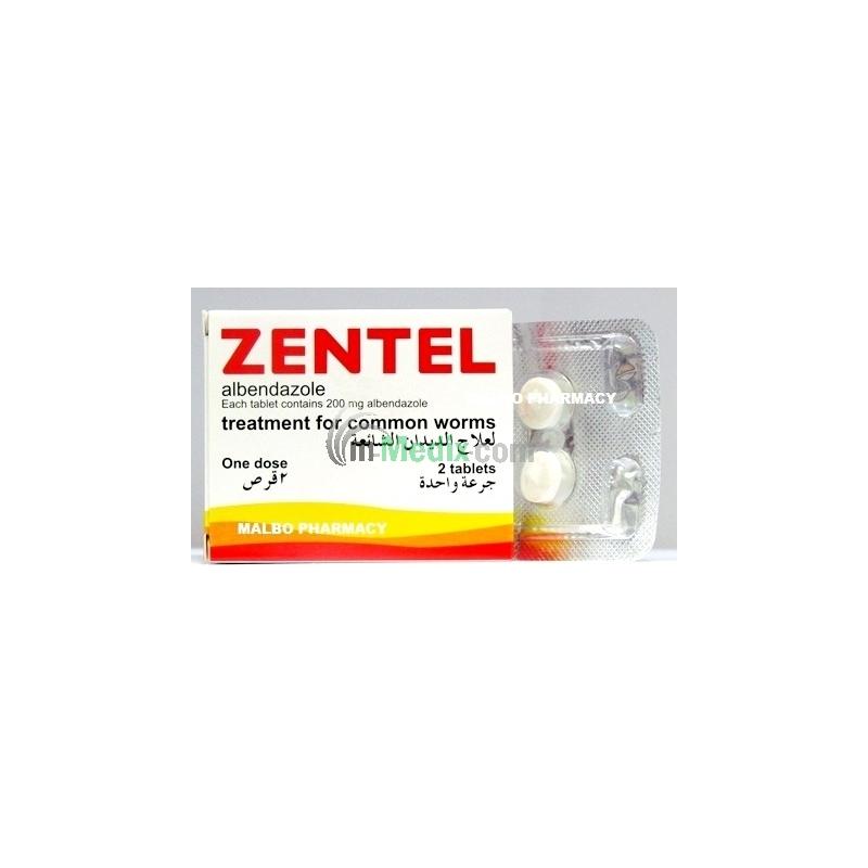 Zentel 200mg Tablets