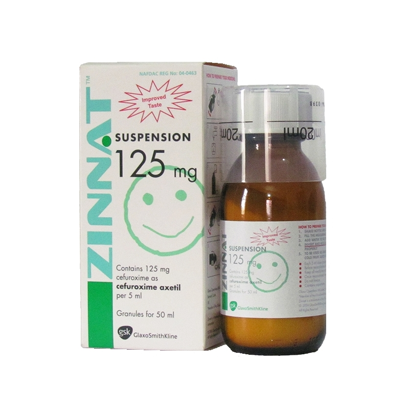 Zinnat Cefuroxime 125mg Oral Suspension -...