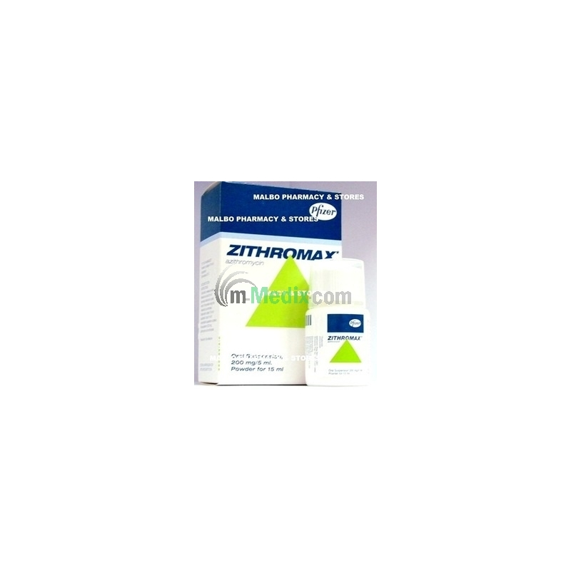 Zithromax 200mg Oral Suspension - 15ml